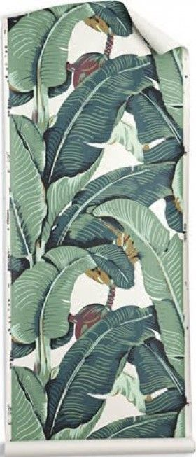Banana leaf  The Original Martinique WallpaperBanana Leaf Wallpaper Bathroom