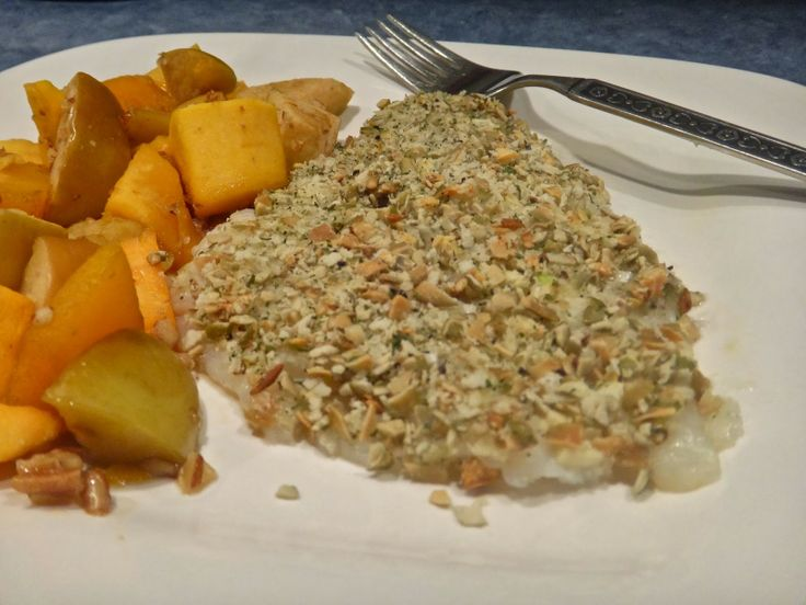 Pumpkin Seed Encrusted Tilapia | The Natural Kitchen Cook