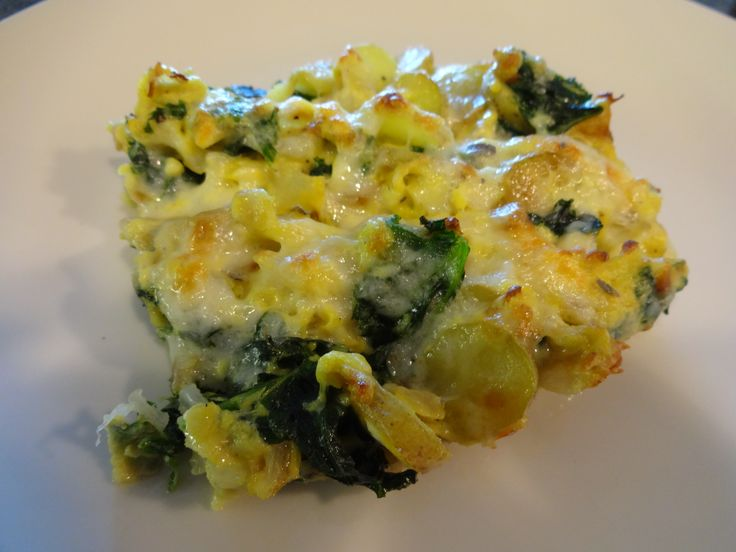 Kale Potato Frittata Pour the olive oil into a skillet set, Add the ...