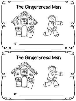 The Gingerbread Man - Emergent Reader