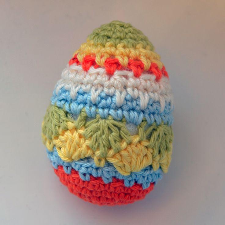 Crocheting Easter Eggs : Crochet Easter egg Crochet-Misc. Pinterest