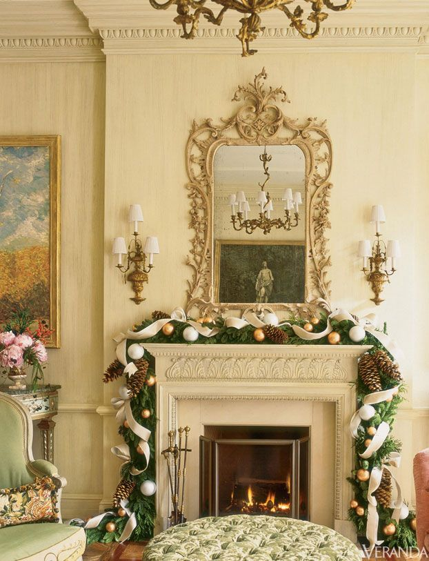 Holiday decor by charlotte moss holiday decor in for Decoration veranda
