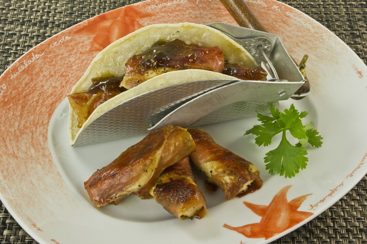 Chicken-Prosciutto Tacos