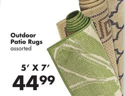 Outdoor Patio Rugs from Big Lots $44 99