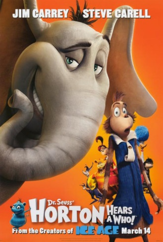Dr. Seuss Horton Hears a Who! Poster