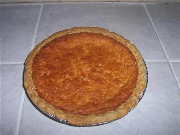 Chess Pie. This has 5 stars on the site that I got the recipe from. I ...