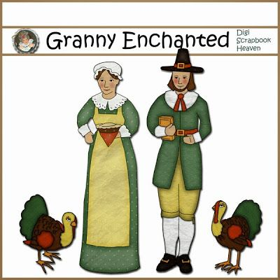 "GRANNY ENCHANTED'S BLOG: ""Turkey Time"" Facebook Freebie!"