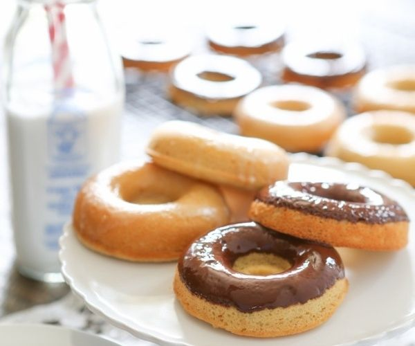 Delectable grain-free donut recipe, perfect with a chocolate or lemon ...
