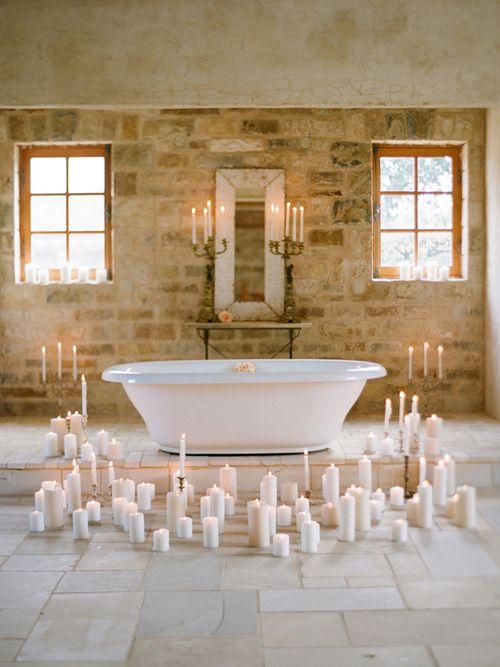 my nightly bath