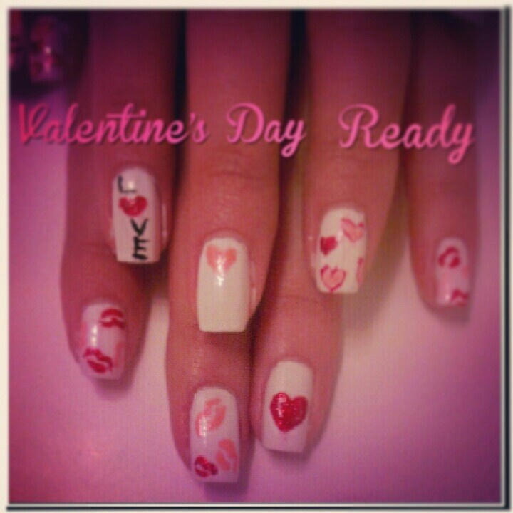 valentines day nails ideas