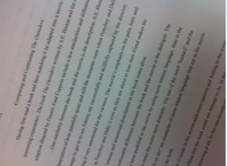 essays on novels