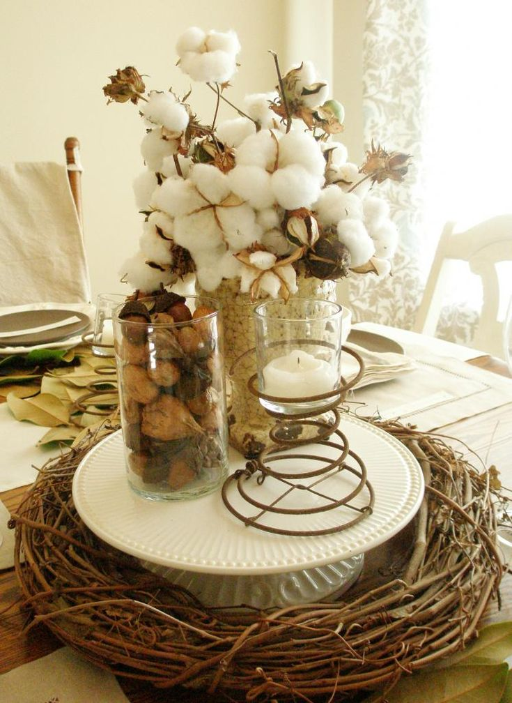 Rustic thanksgiving table setting adorbymelissa