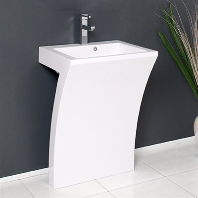 Very Modern Pedestal Sink Home Pinterest