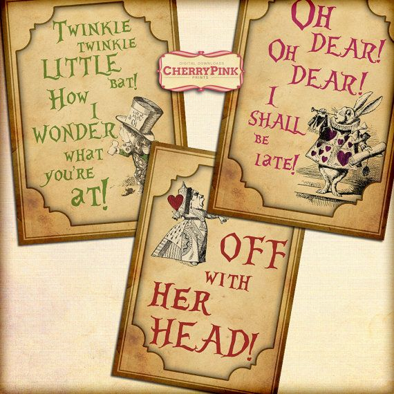 Alice in Wonderland Frames