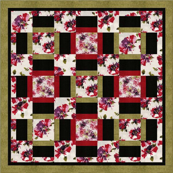 Free Quilt Patterns For Large Prints : Pin by Mary Ann Gerard on Quilts, Blankets, Fabric! Pinterest