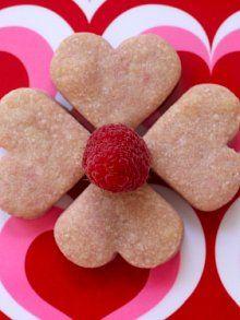 Raspberry Shortbread Hearts | Recipe