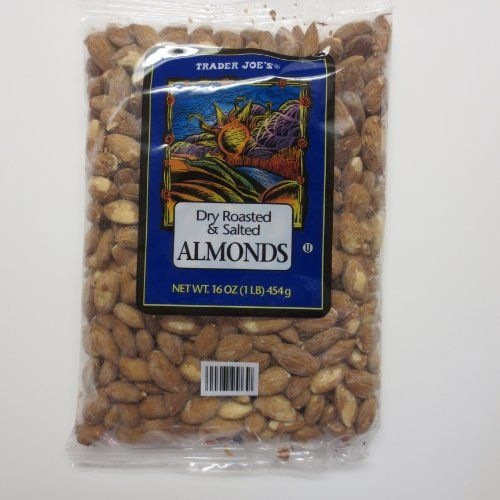 ... & salted almonds. They always hit the spot. #traderjoe's #almonds