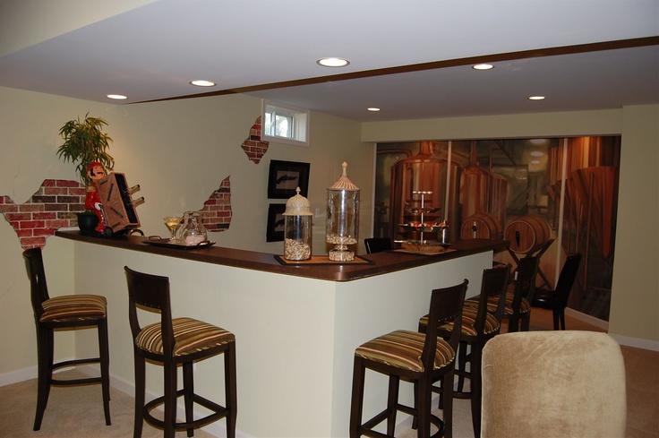basement wet bar basement ideas pinterest
