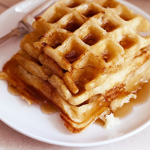 Buttermilk Waffles With No Eggs - my changes: I halved the recipe ...