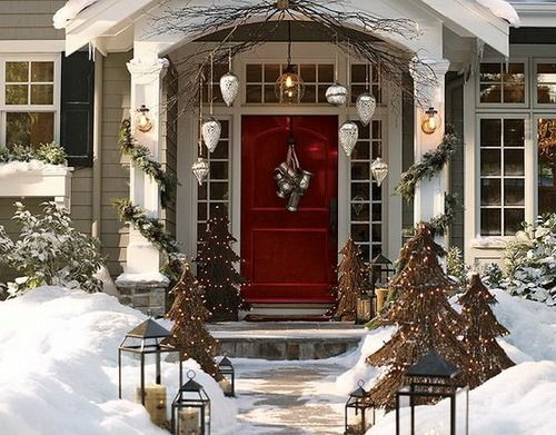 Front Porch Christmas Decorating Ideas Ideas Christmas