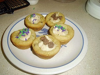 Mini Chocolate Chip Cookie Cups | Cookies | Pinterest