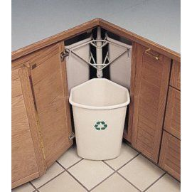 Corner Cabinet Bin Sounds Like The Solution To My Annoyance With