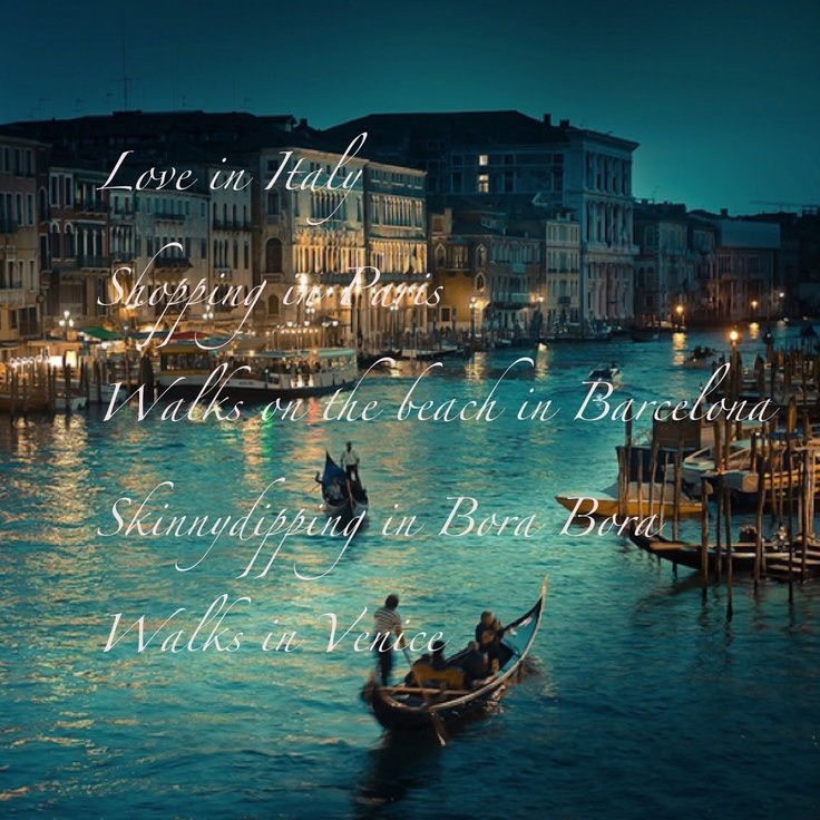 Venice. Grand Canal...I'll be there in a few short months!