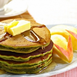 tea matcha green tea coconut pancakes recipes dishmaps matcha green ...