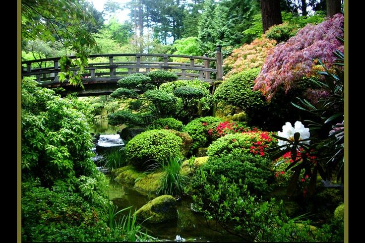 Japanese Garden Portland Or Portlandia Pinterest