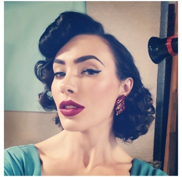 rockabilly hairstyles for short hair : Rockabilly Hairstyles