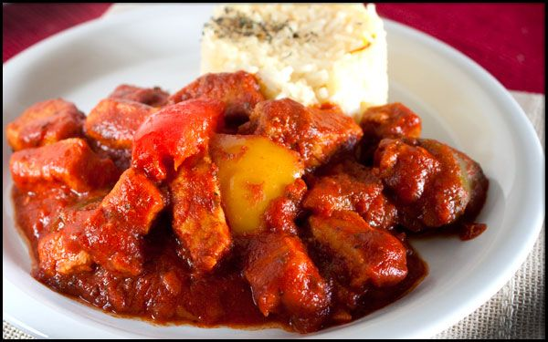 Hungarian Pork Stew