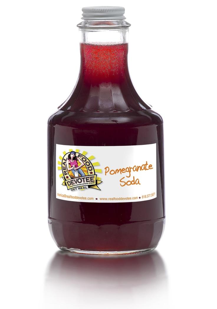 Homemade Pomegranate Soda Recipe | Drinks! | Pinterest
