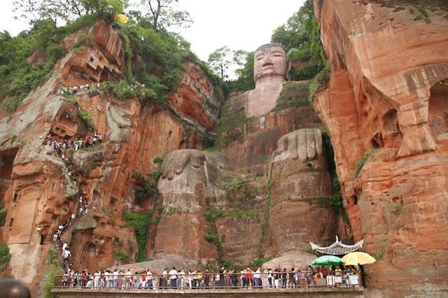Estátua de Buda - Lanshan - China