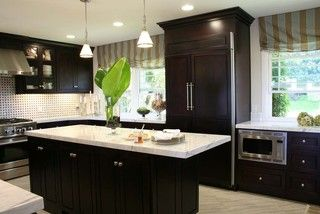 Carrera marble kitchen los angeles by bella inspirations
