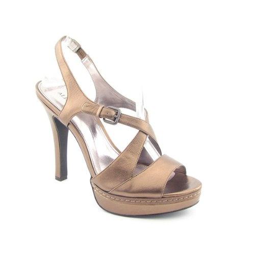 Sandals Heels Slingbacks Platforms Sandals Shoes Bronze Womens: Shoes