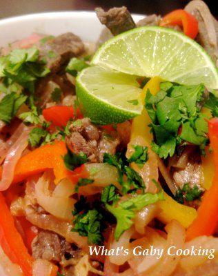 Beef Fajitas with a Cilantro Lime Marinade | Recipe