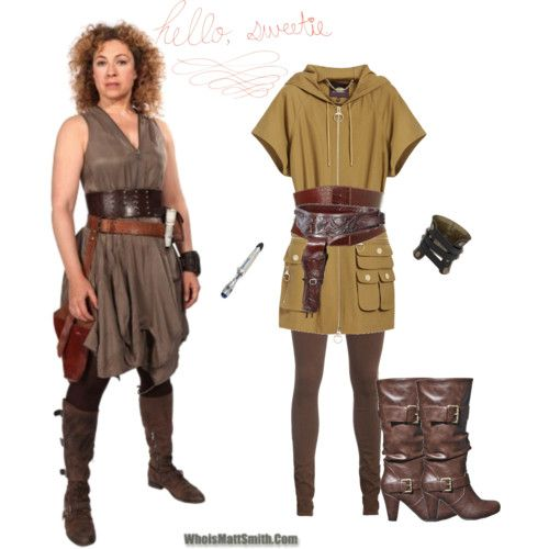 River Song Outfits By Episode   www.imgkid.com - The Image Kid Has It!
