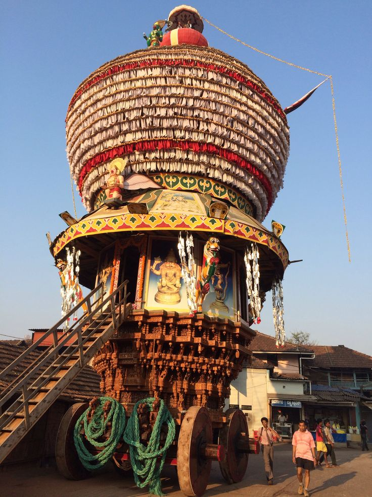 Udupi India  City new picture : temple chariot at Udupi , India | Everything Indian | Pinterest
