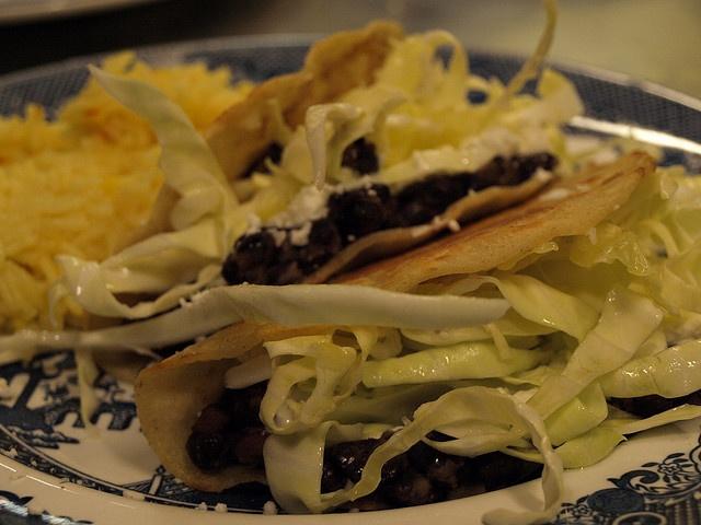 Black Bean and Goat Cheese Tacos | En la Cocina | Pinterest