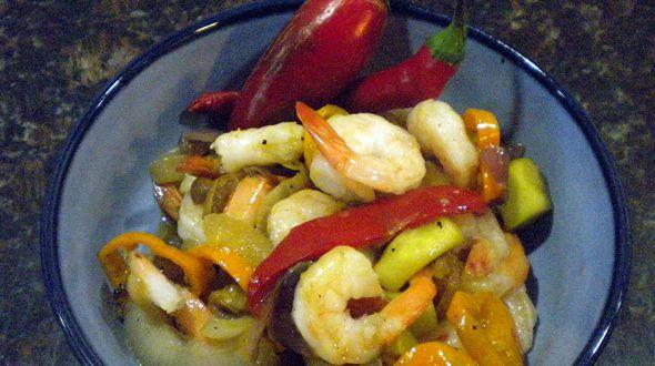 Spicy Shrimp Stir Fry | Paleo Meals | Pinterest