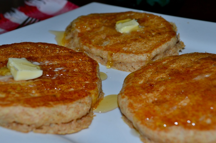 Good Old Fashioned Pancakes! Made mine with a little healthier twist ...