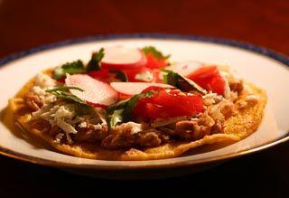 Chipotle Bean Tostadas | Recipe