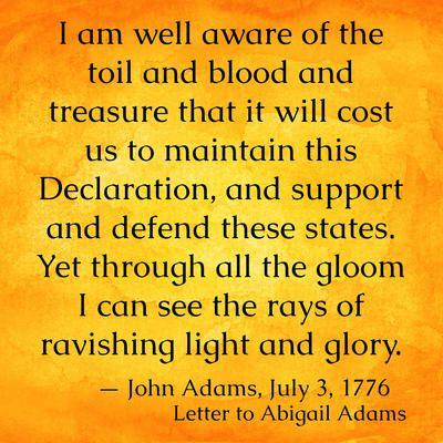 4th july 1776 declaration