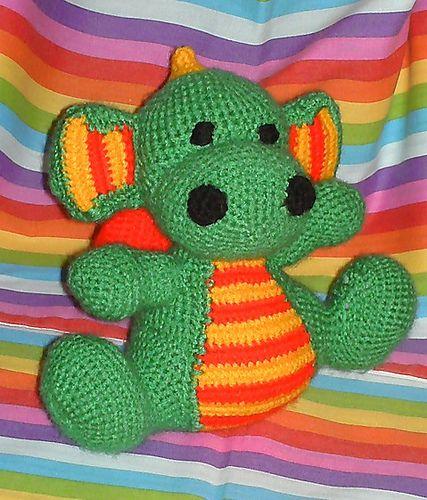 Amigurumi Dragon Pattern Free : Ravelry: Amigurumi Dragon pattern Knit/Crochet Amigurumi ...