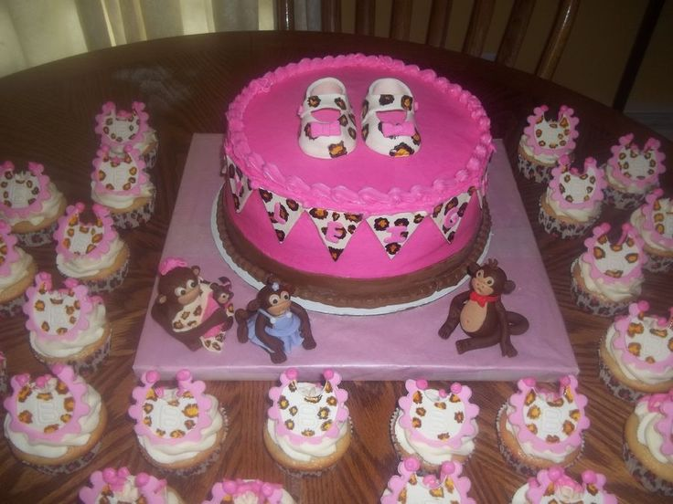 leopard baby shower ideas leopard monkey baby shower cake baby