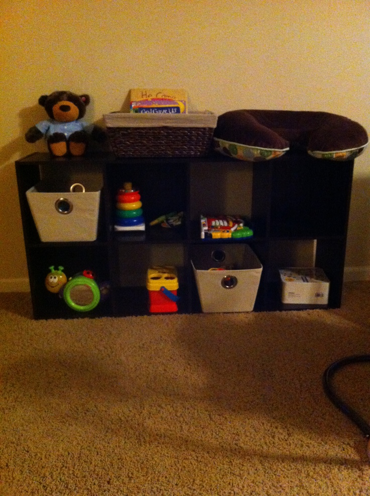 Toy storage in living room for the home pinterest for Living room toy storage