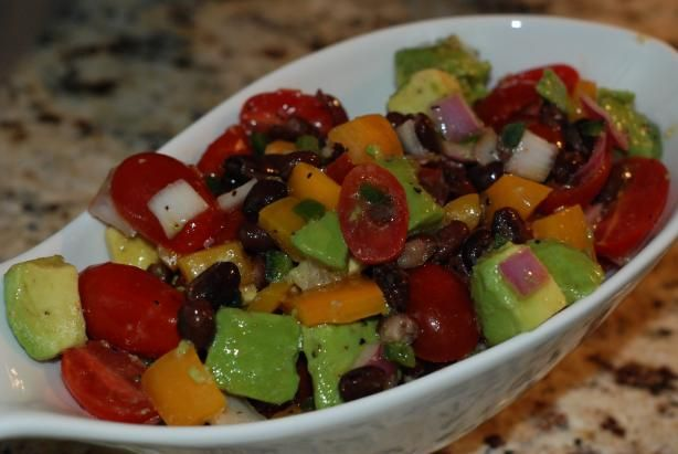 Guacamole Salad (Barefoot Contessa) Ina Garten. Photo by ...