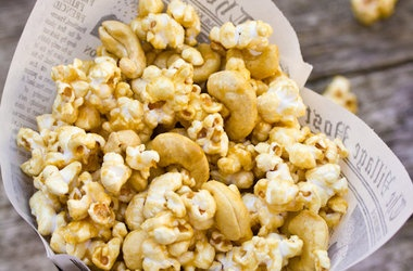 Microwave Caramel Corn. | Food of All Kinds | Pinterest