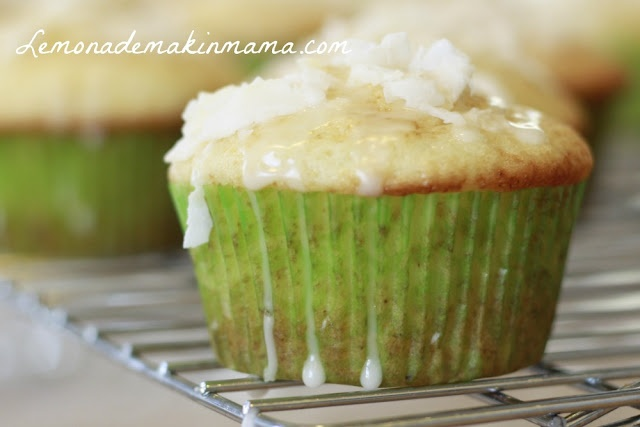 Gluten Free Tropical Muffins with Pineapple Glaze from Lemonade Makin ...