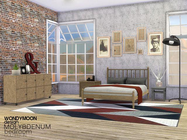 Sims4CcsTheBestBedroomByWondymoonTheSims4